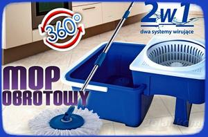 8)INTELIGENTNY MOP OBROTOWY SMART  2W1